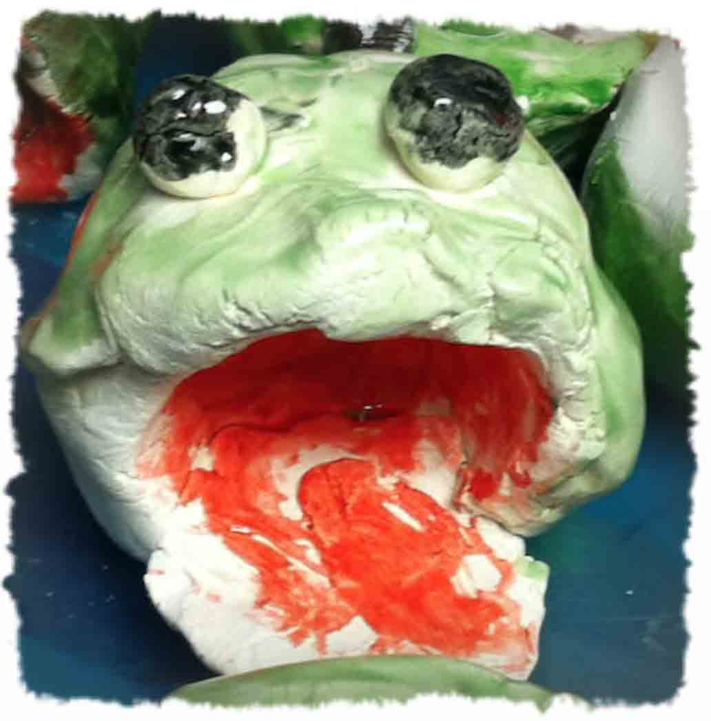 Pinch Pot Frogs