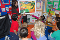 Photo of Art Docent in the classroom